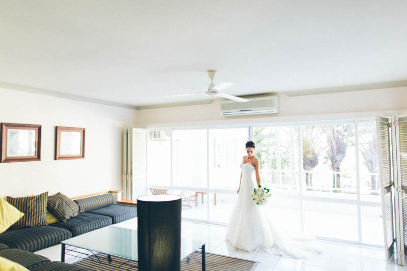 Bride Palm Cove