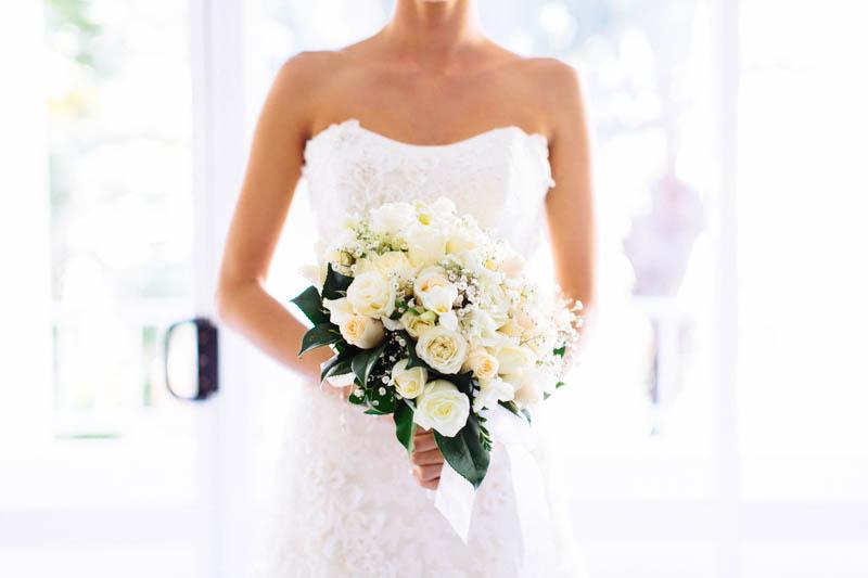 Bridal details - flowers
