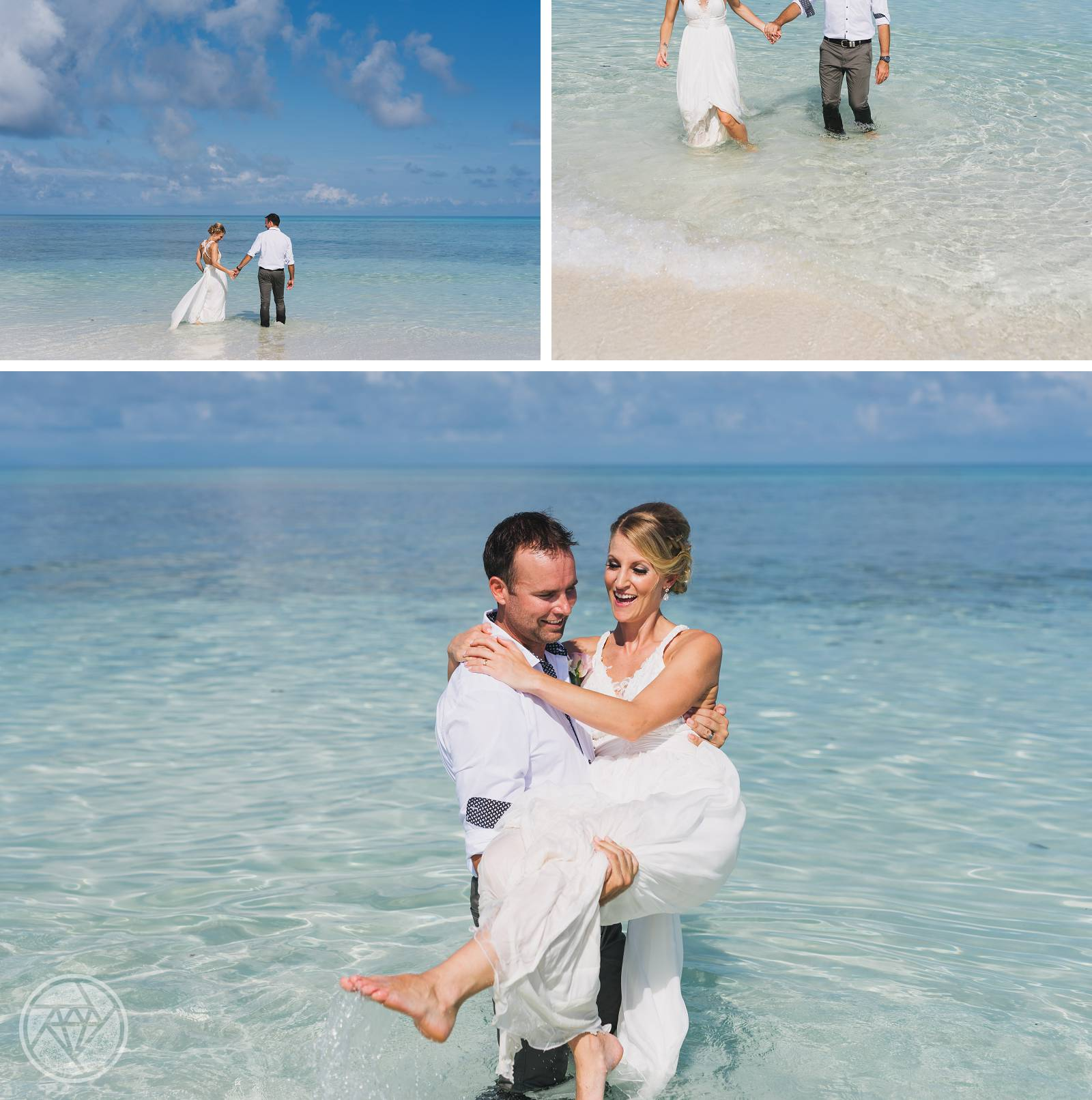 Sand Cay Wedding Photography
