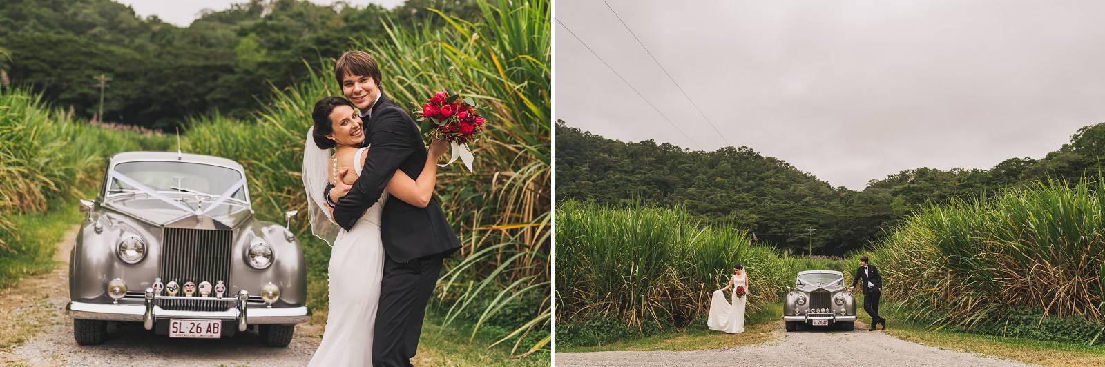 Wedding Photo Sugar Cane Port Douglas