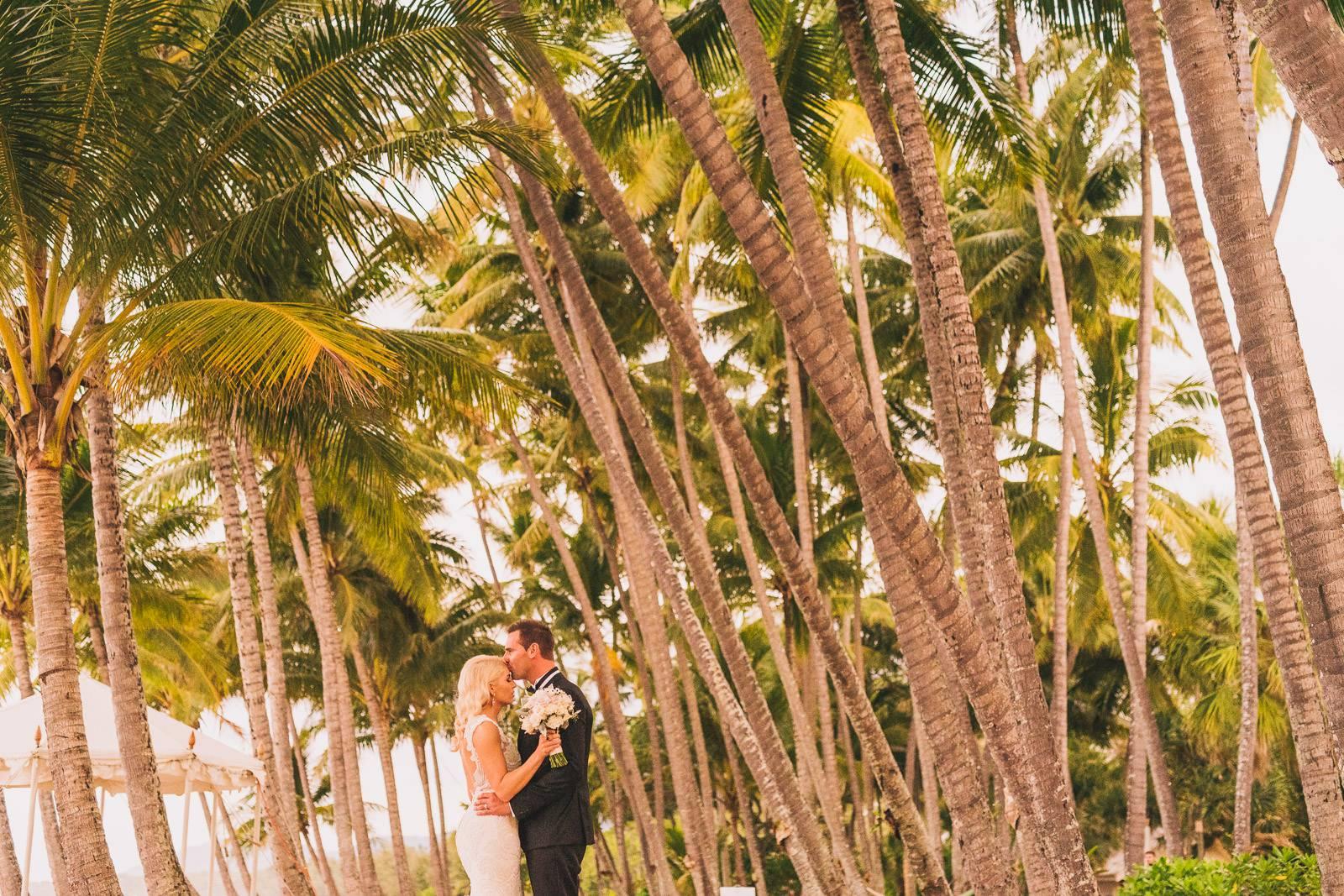 Palm Cove wedding photo
