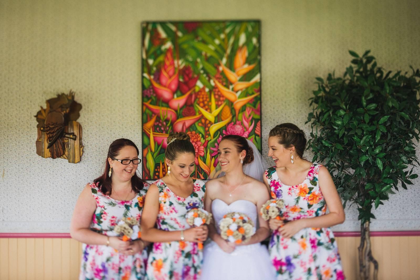 Innisfail Wedding Bridal Party