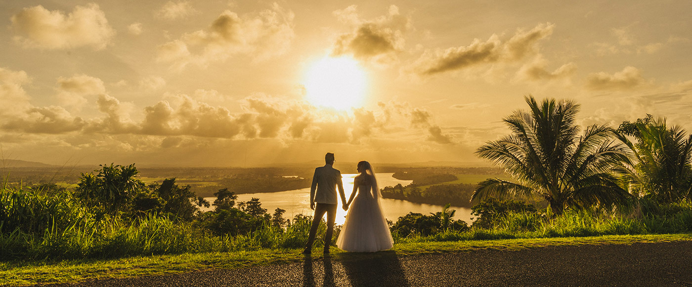 Innisfail Wedding Sunset