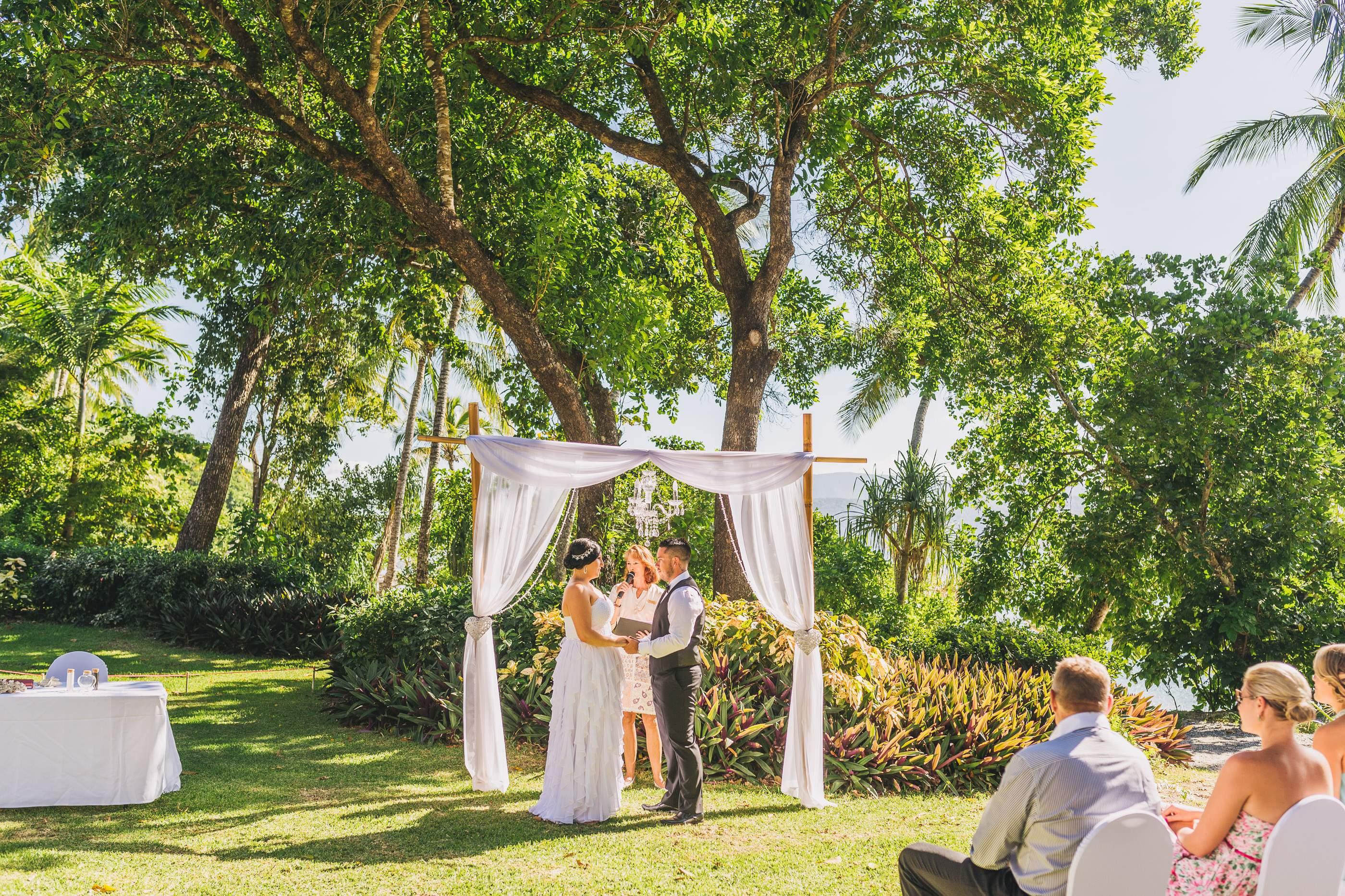 Fitzroy Island Ceremony