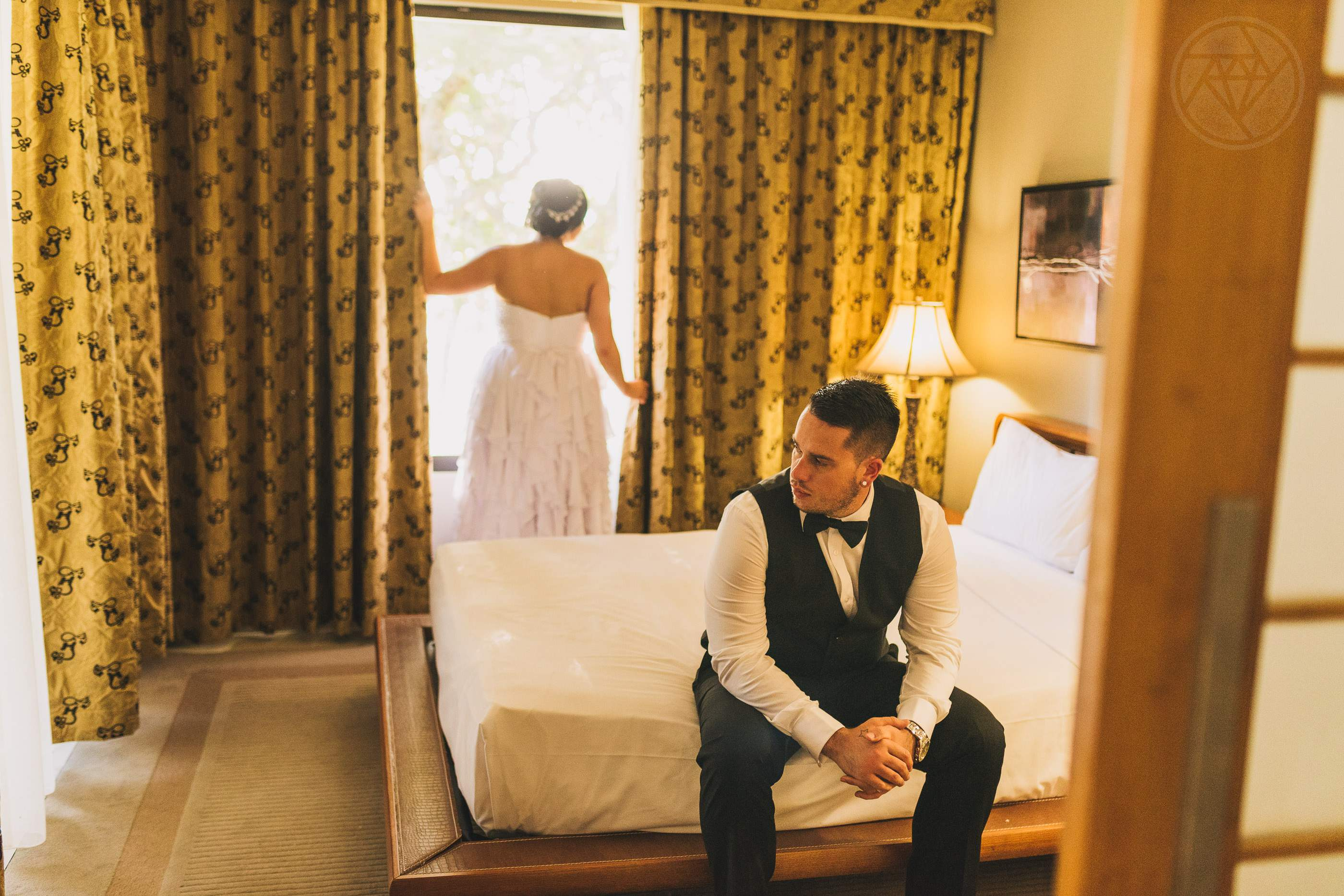 Fitzroy Island Wedding Bedroom