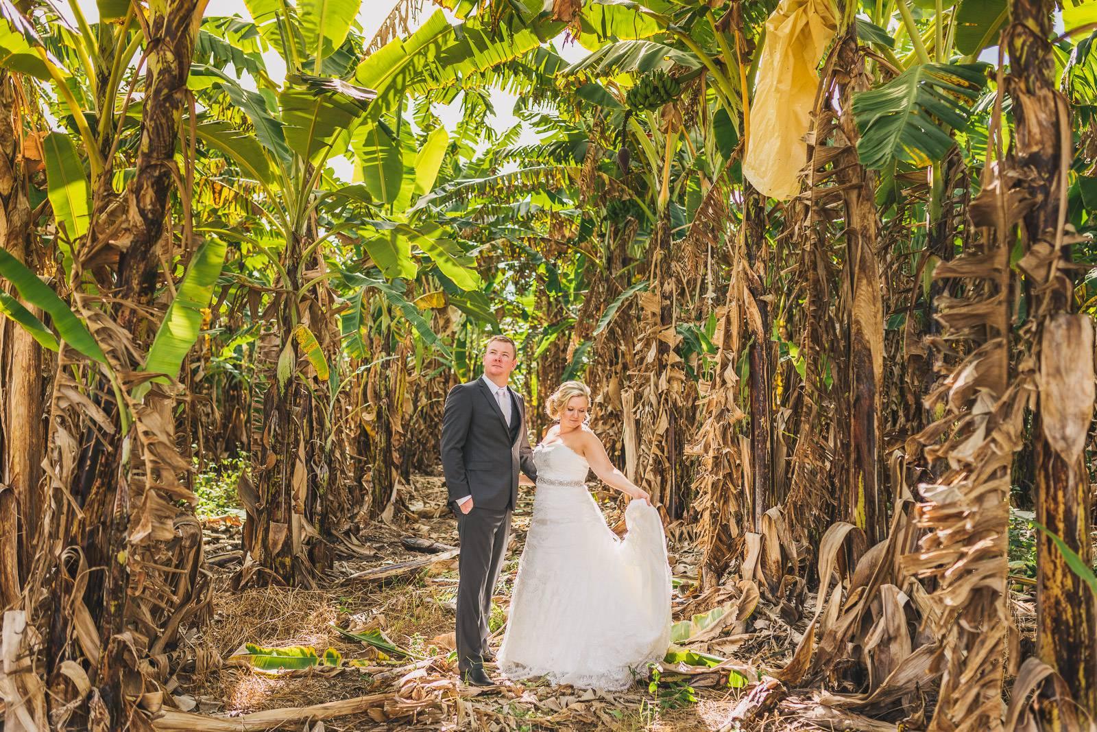 Banana Plantation Wedding Photography