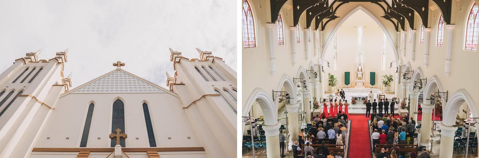Innisfail Catholic Church wedding
