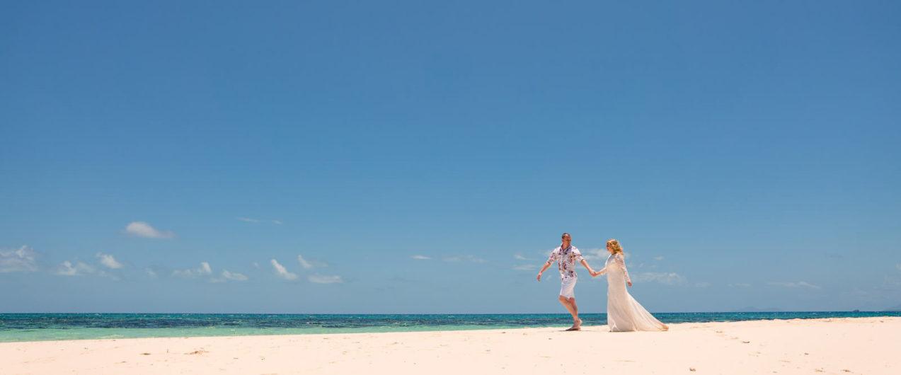 Sand Cay Elopement