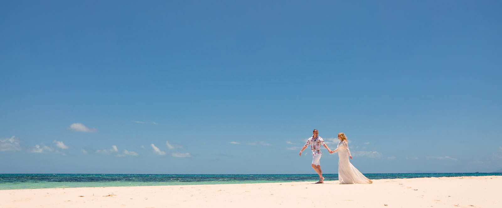 Sand Cay Elopement