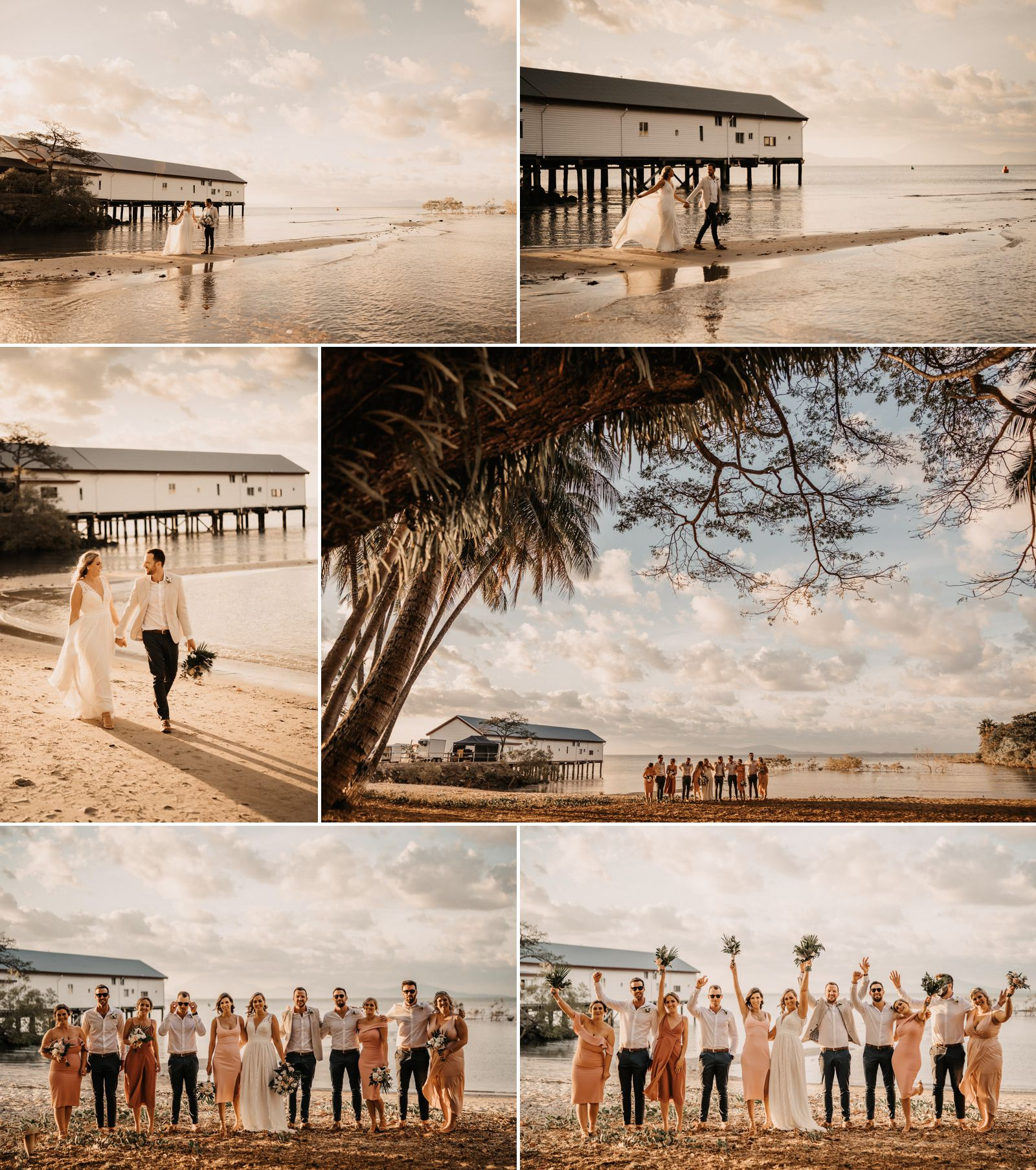 creative port douglas wedding photos