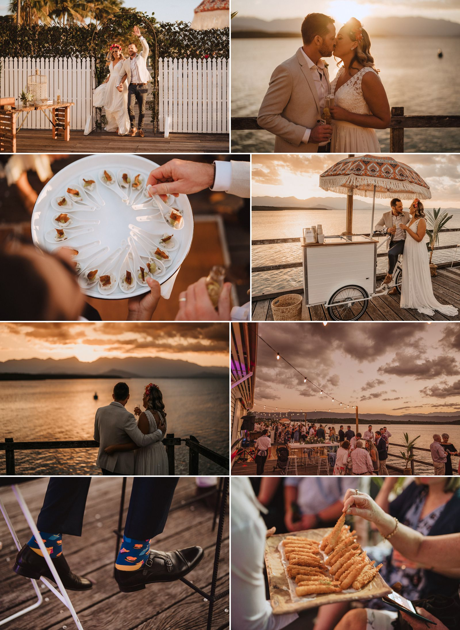 sugar wharf wedding